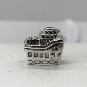 """New Authentic PANDORA """"All Aboard"""" Sterling Silver"""